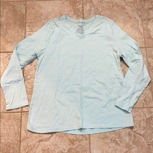 Faded Glory v neck long sleeve t-shirt
